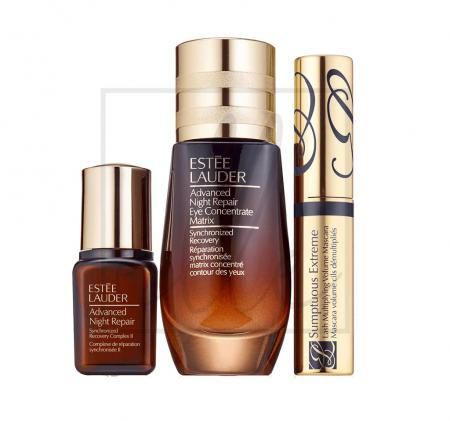 Estee lauder beautiful eyes: repair + renew gift set for a fresh, wide open look