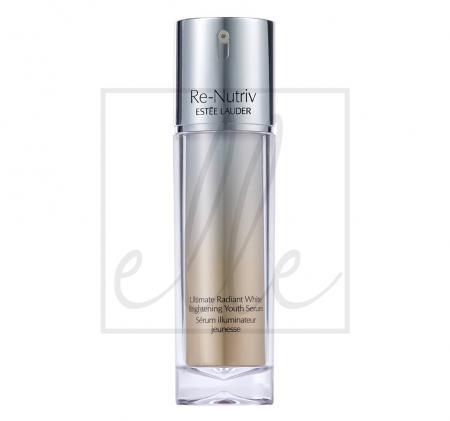Estee lauder re-nutriv ultimate radiant white brightening youth serum (new) - 30ml