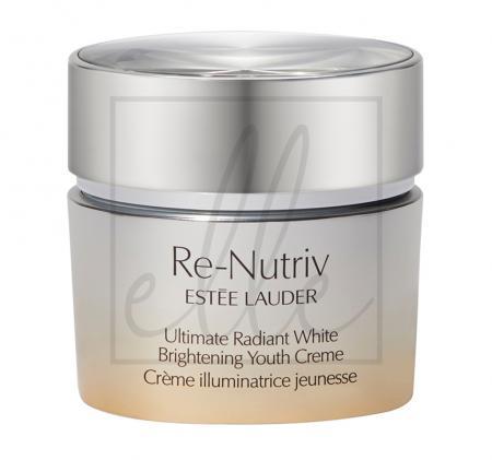 Estee lauder re-nutriv ultimate radiant white brightening youth cream - 50ml