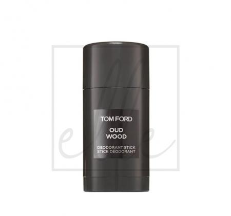 Oud wood deodorant stick 75ml