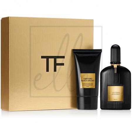 Black orchid gift set (edp spray + 75ml hydrating emulsion)