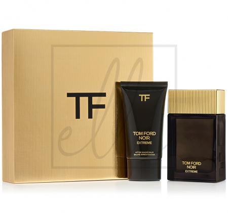 Tom ford mens noir extreme eau de parfum gift set (edp 100ml + 75ml after shave balm)