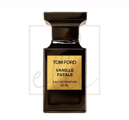 Vanille fatale eau de parfum