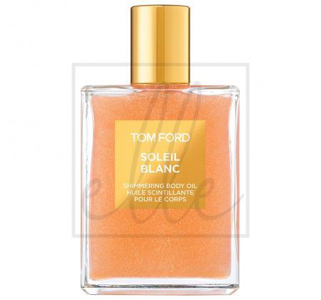 Soleil blanc shimmering body oil rose gold - 100ml